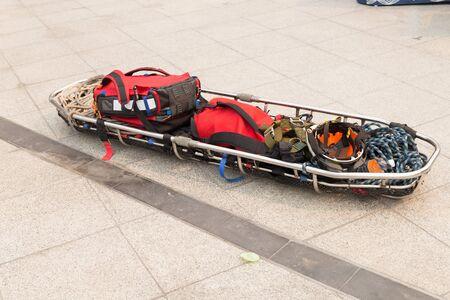 emergency stretcher: stretcher gurney for emergency paramedic service