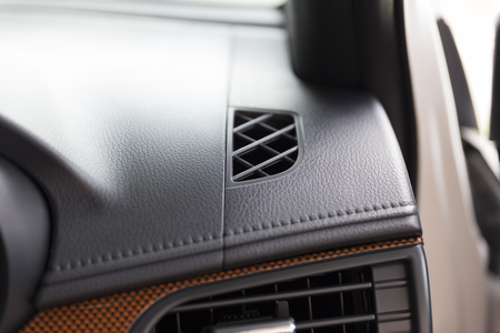 vent: vent of air conditioner inside of new car