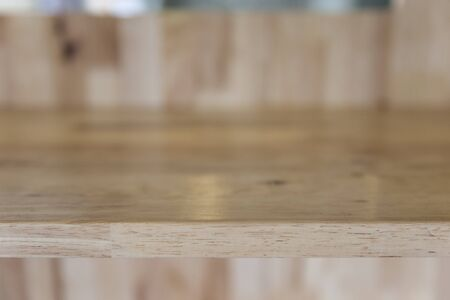 montage: wooden table for montage or display your product