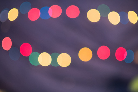 colorful defocused blur bokeh light for abstract background usage. holiday celebration backdrop