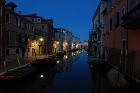 aristocratic: Atmospheric shot of Venice by night