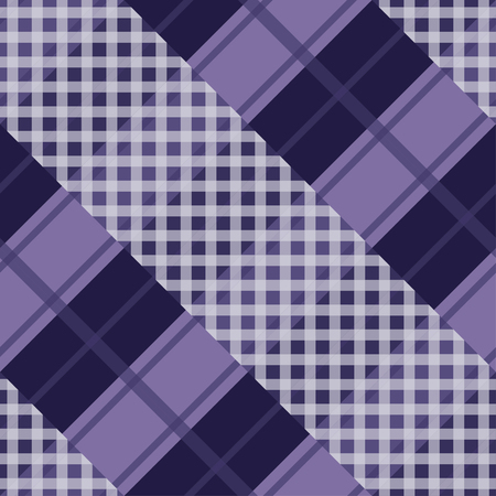 Seamless tartan plaid pattern in purple tone.  イラスト・ベクター素材