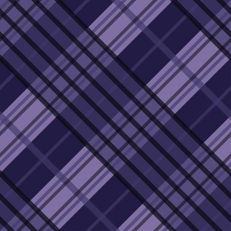 Seamless tartan plaid pattern in purple tone. 矢量图像