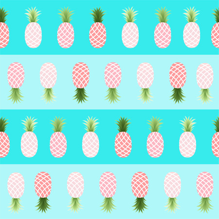 Pattern with Pineapples