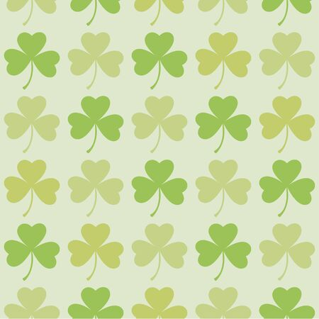 Saint Patrick's Day seamless for background. 向量圖像