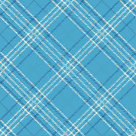 Seamless tartan plaid pattern in blue tone. Illustration