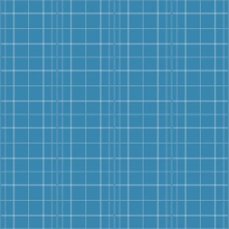 Seamless tartan plaid pattern in blue tone. 向量圖像