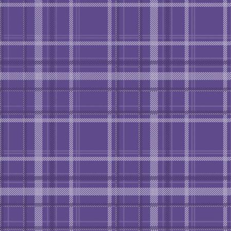 Tartan pattern fabric seamless. Purple and Ultra Violet tone. 版權商用圖片 - 105680119
