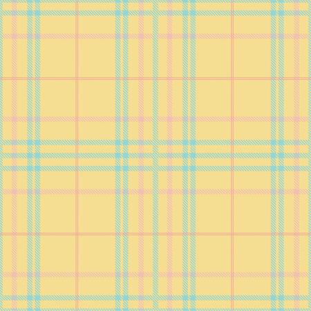 Seamless tartan plaid pattern in summer tone. 版權商用圖片 - 105680122