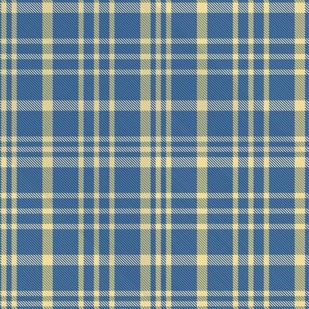 Seamless tartan plaid pattern in blue tone. 版權商用圖片 - 105658710