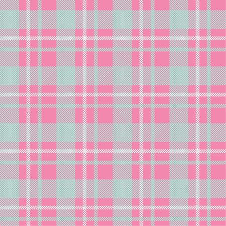Tartan pattern,Scottish traditional fabric seamless, pink background,
