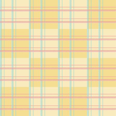 Seamless tartan plaid pattern in summer tone. 版權商用圖片 - 105656440