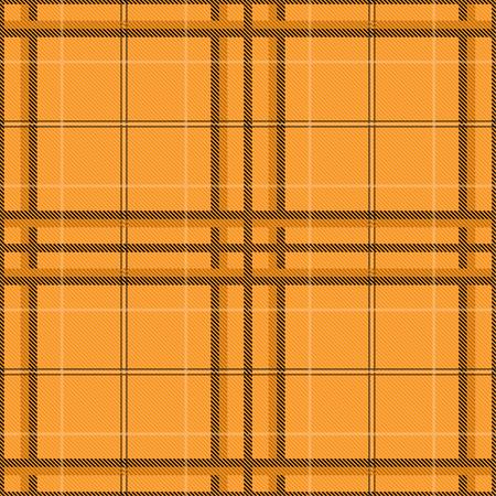 Tartan pattern,Scottish traditional fabric, orange tone background. 版權商用圖片 - 107528382