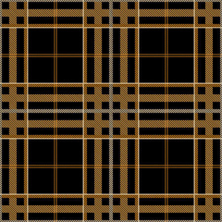 Tartan pattern,Scottish traditional fabric, orange tone background. 版權商用圖片 - 107528383