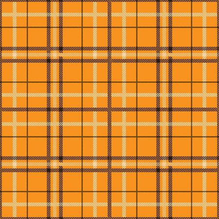 Tartan pattern,Scottish traditional fabric, orange tone background. 版權商用圖片 - 107528344