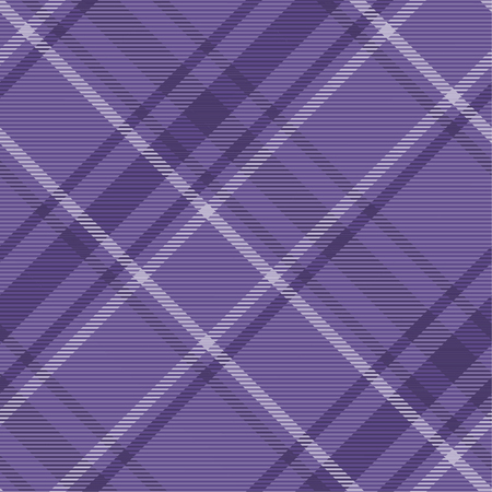 Tartan pattern,Scottish traditional fabric seamless. Purple and Ultra Violet on purple background,Pantone Style.
