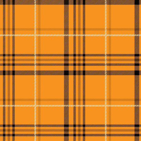 Tartan pattern,Scottish traditional fabric, orange tone background. 版權商用圖片 - 107528426