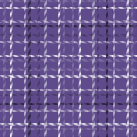 Tartan pattern,Scottish traditional fabric seamless. Purple and Ultra Violet on purple background,Pantone Style. 版權商用圖片 - 107528434