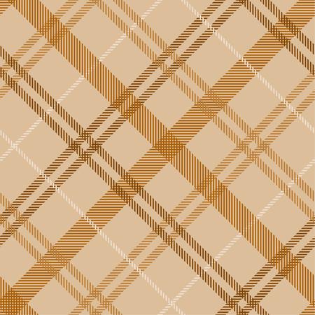 Tartan pattern,Scottish traditional fabric, orange tone background. 版權商用圖片 - 107528435