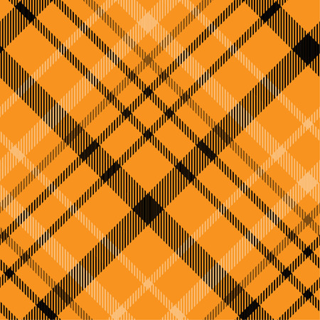 Tartan pattern,Scottish traditional fabric, orange tone background. 版權商用圖片 - 107528520