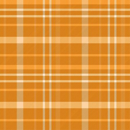 Tartan pattern,Scottish traditional fabric, orange tone background. 版權商用圖片 - 107528547