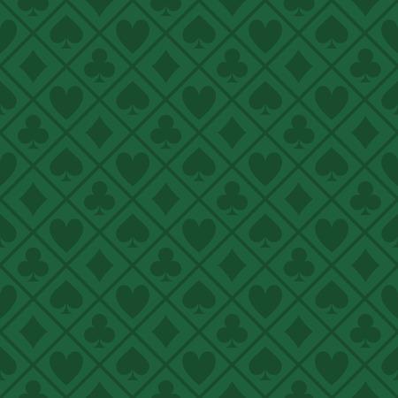 녹색 텍스처 패브릭 포커 테이블의 원활한 패턴