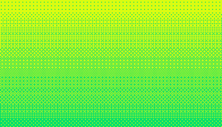 Pixel art dithering background in bright green color.