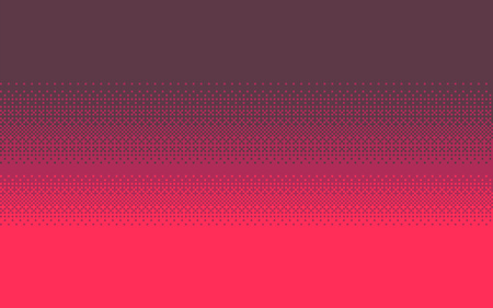 Pixel art dithering background in three colors. 일러스트