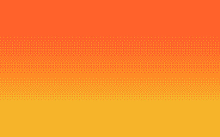 Pixel art dithering background in three colors. Ilustrace