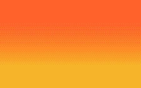 Pixel art dithering background in three colors. Иллюстрация