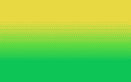 Pixel art dithering background in three colors. Ilustração
