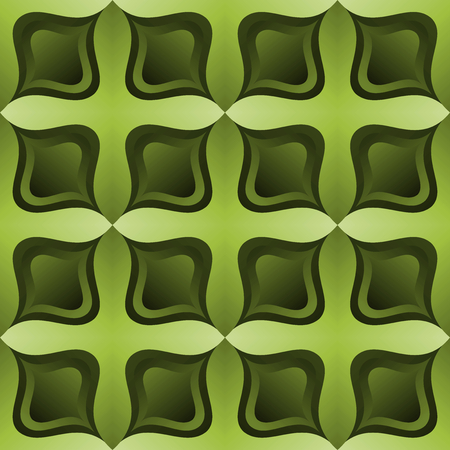 Gradient Olive Green Curved Tile Cross Texture Pattern Background Wallpaper Illustration Stock fotó