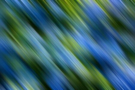 Background of green and blue shaded diagonal stripes