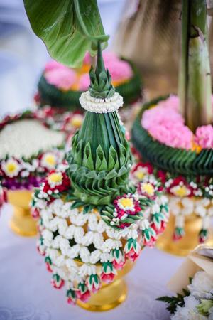 Flower tray for Thai traditional wedding