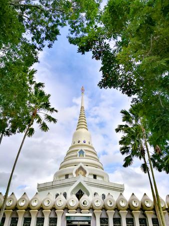 Pattaya Chonburi, Thailand. Thai gazebos-temple (sala) at Wat Yannasangwararam