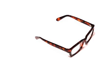 fashion eye glasses isolated on white backgrounds Stock Photo