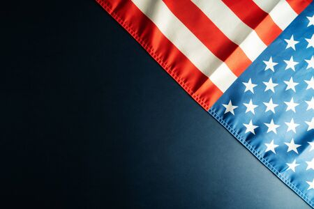 Martin Luther King Day Anniversary - American flag
