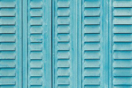 Blue steel door texture background aged and crack