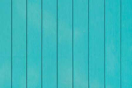 Blue green wood texture background aged and crack wooden Banco de Imagens