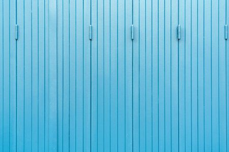Blue wooden window background aged and crack texture