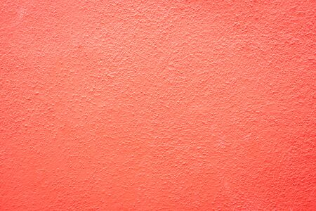 coral pink outdoor wall cement texture abstract background Banco de Imagens - 137849571
