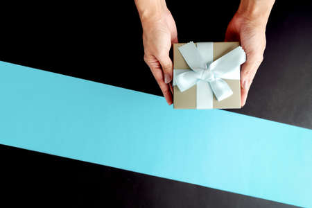 Boxing day sale, luxury gift box for online shopping