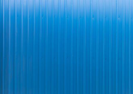 Blank blue metal sheet, seamless vertical, background texture.