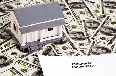 real estate purchase agreement photo