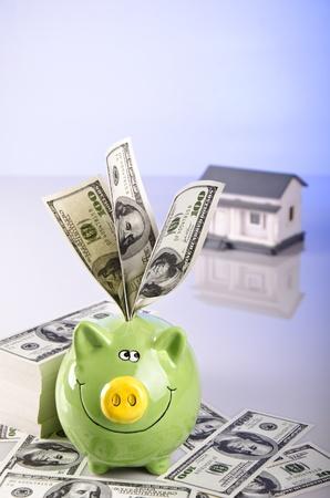 saving money for a dreamed home