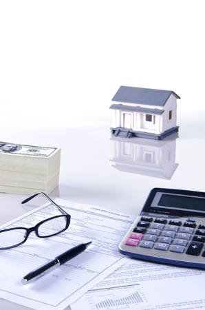 concept of housing loan photo