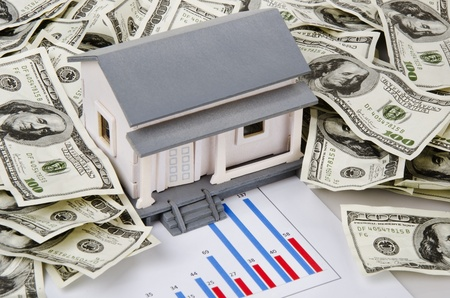 sucessful: sucessful real estate business Stock Photo