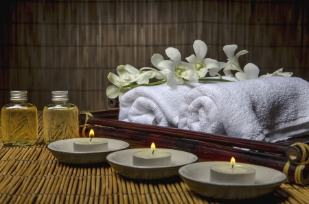 Spa and massage material