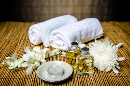 flame like: Massage and spa concept