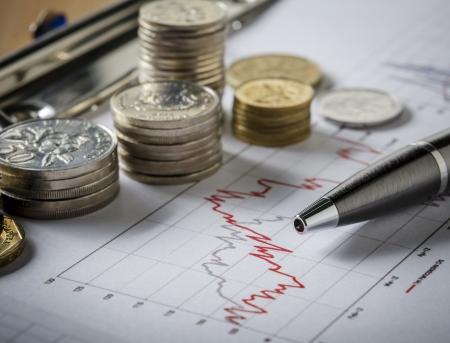 perdidas y ganancias: Concepto de hacer dinero de la inversión